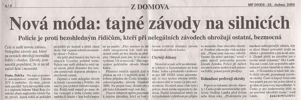 MF Dnes 2005